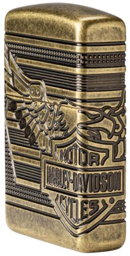 Zippo 2019 Limited Production Harley Davidson Armor Lighter, 29898, New In Box