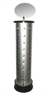 Deluxe 20 Pair Silver Spinning Sunglass Display Rack Eyewear Counter Displaying