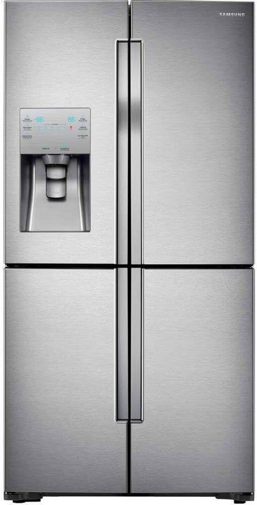 22.5 Cu. Ft. Stainless Steel Counter Depth French Door Refrigerator