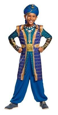Genie Kids Costume (Genie Classic Child Costume Boys Aladdin)