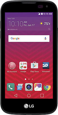 Virgin Mobile   Lg K3 With 8Gb Memory Prepaid Cell Phone   Black