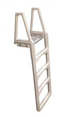 "Confer 635-52X In-Pool Above Ground Swimming Pool Ladder 48""-56"" Adjustable"