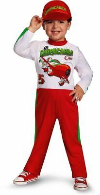 New Disney Planes Cars El Chu Toddler Costume Medium