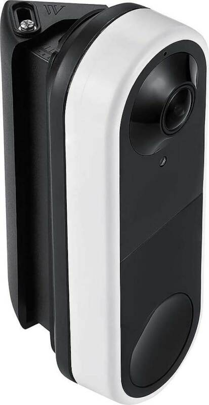 Wasserstein - Horizontal Wedge Wall Mount for Arlo Video Doorbell