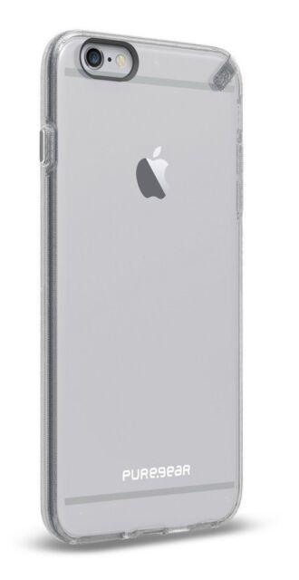 GENUINE PUREGEAR IPHONE 6 PLUS / 6S PLUS SLIM SHELL FLEXIBLE CASE COVER | CLEAR