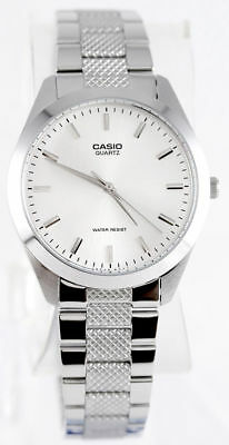 Casio MTP1274D-7A Men's Standard Analog Stainless Steel Silver Dial Watch