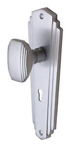 Art deco door handles ebay for 1930s brass door handles