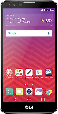 Virgin Mobile   Lg G Stylo 2 4G With 16Gb Memory Prepaid Cell Phone   Titan S