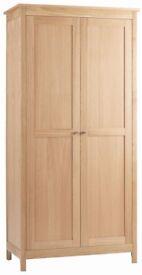 Corndell Nimbus oak wardrobe