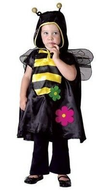 Girls Boys Busy Bee Fancy Dress Costume Toddler 2 3 4 92-104 Under 4 Book - Busy Bee Kostüm
