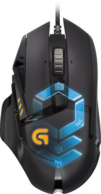 Logitech   G502 Proteus Spectrum Wired Optical 11 Button Scrolling Gaming Mou