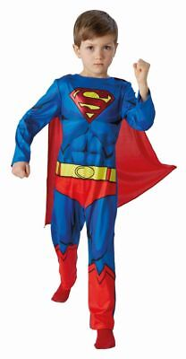 Rub - DC Comics Kinder Kostüm Superman Overall Cape