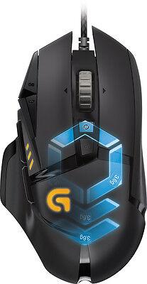 Logitech - G502 Proteus Spectrum Optical Gaming Mouse - Black