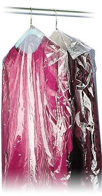 40 21x7 Crystal Clear Plastic Dry Cleaning Poly Garment Bags - 600 Bags Roll
