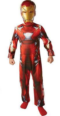 THE AVENGERS CIVIL WAR IRON MAN CLASSIC MARVEL FANCY DRESS COSTUME - Poison Ivy Marvel Costume