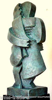 20 kgModerne Kunst Bronze Akt signiert Archipenko Bronzefiguren Bronze Skulptur