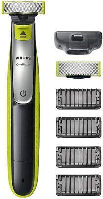 PHILIPS OneBlade QP2520/20 Rasierer Bartschneider mit 3 Aufsätzen abwaschbar NEU
