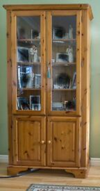 Ducal Victoria Pine Wall Unit