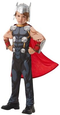 Thor Avengers Assemble Classic Kinderkostüm NEU - Damen Karneval Fasching - Thor Avengers Classic Kind Kostüm