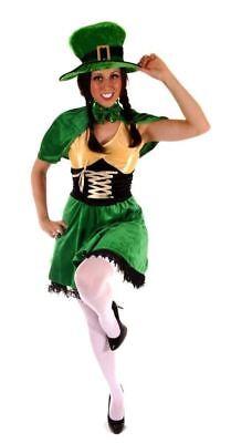 Sexy Irish Female Leprechaun St. Patricks Day Fancy Dress