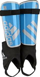 584eda38a843 adidas Performance F50 Youth Shin Guard Blue Soccer Junior Small Ages 3 - 5