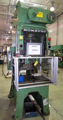 Komatsu Mdl. Obs-60 60 Ton Hydraulic Straight Side Punch Press