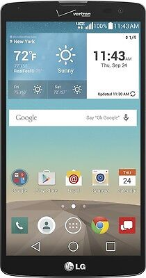 "Verizon - LG G Vista VS880 4G LTE with 8GB Memory  - Black 5.7"" Screen Brand New"