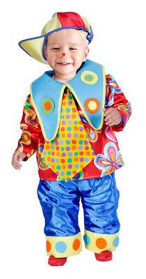 Clown Moritz Kostüm für Kleinkinder 12-18 Monate 86 92 Clownkostüm Zirkus
