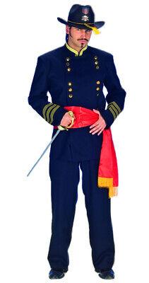 General Nordstaaten Kostüm exklusiv Herren Anzug Cowboy Western Fasching Party