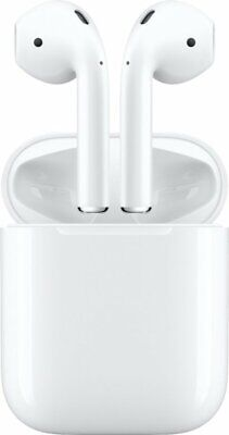 Apple AirPods 2nd Generation with Charging Case Latest Model - White Brand New