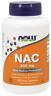 NAC N-Acetyl Cysteine 600 mg, Selenium, Molybdenum Now Foods