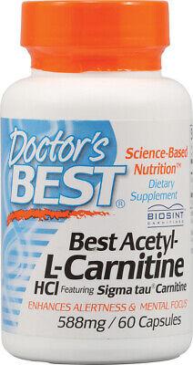 Acetyl-L-Carnitine, Doctor's Best, 60