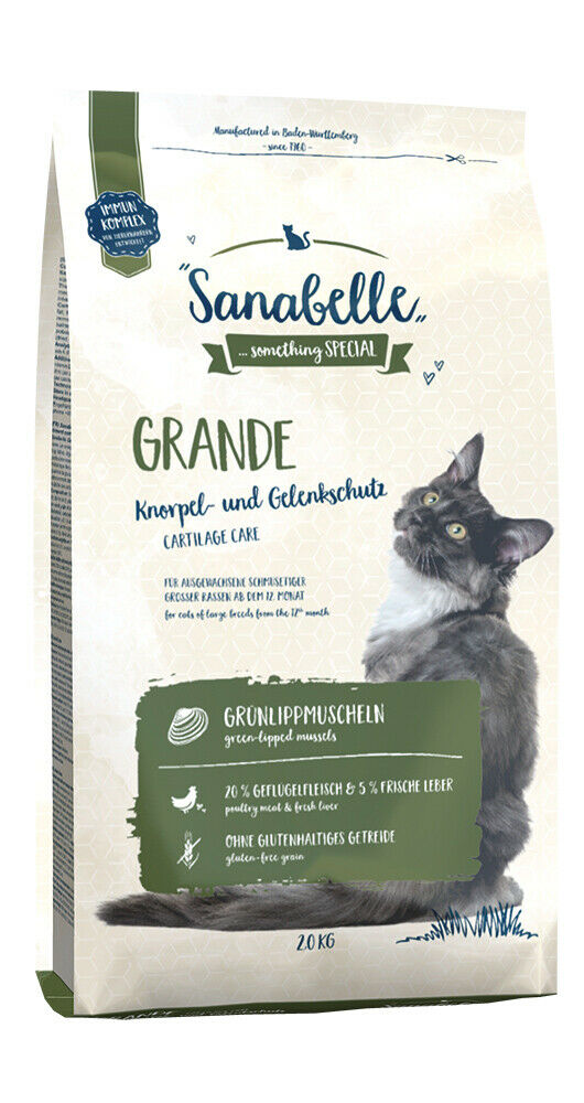 BOSCH Trockenfutter SANABELLE GRANDE für Katzen 2,0 kg