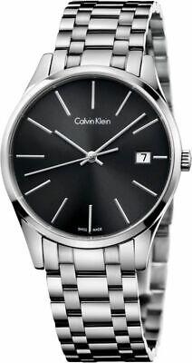 Calvin Klein Men's Time Quartz Watch K4N23141 ()