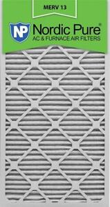Nordic Pure 16x30x1M13-6 16x30x1 MERV 13 Pleated AC Furnace Air Filter, Box of 6, 1-Inch  Condition: New