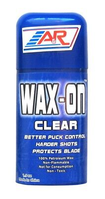 Hockey Stick Wax - NEW A&R Rub On Ice Street Roller Hockey Stick Wax Improved Puck Control Clear