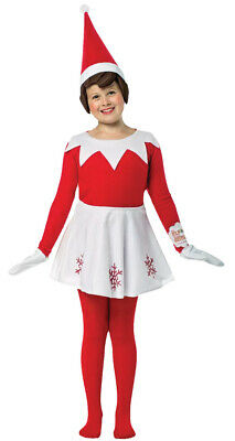 Rasta Imposta Elf on the Shelf Girls Childs Christmas Holiday Costume GC4319710 - Girls Elf Costume