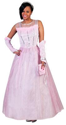 Prinzessin Romy Kostüm für Damen Rosa Traumkleid für Fasching Theater Ball JGA