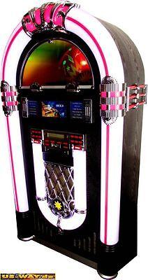 o Vintage Musiktruhe Stereoanlage Nostagie 50er Jahre Style (Jukebox 50er Jahre)