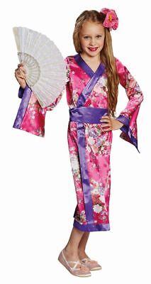 Rub - Kinder Kostüm Geisha Kimono Japanerin Karneval Fasching ()
