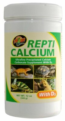 Zoo Med Repti Calcium with D3 Ultra Fine 12oz ()