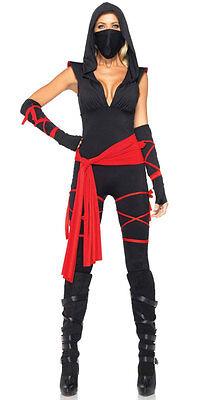 Ninja Warrior Lady Dead Damenkostüm NEU - Damen Karneval Fasching Verkleidung Ko