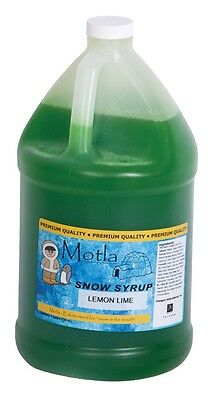 Motla Lemon-lime Snow Cone Syrup One Gallon