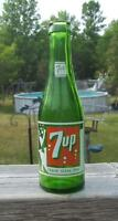 Vintage 7 up ACL 7 oz. Soda Pop Bottle from Mount Forest Ont.