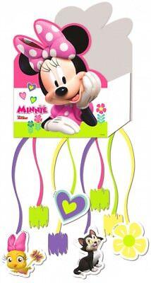 Minnie Mouse Pinata 44 cm Zieh Pinata Kindergeburtstag Mottoparty Neu Disney