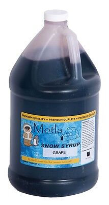 Motla Grape Snow Cone Syrup One Gallon