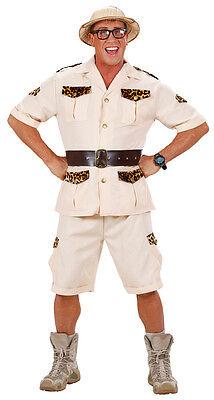 Safari Dschungel Kostüm für Herren NEU - Herren Karneval Fasching Verkleidung Ko