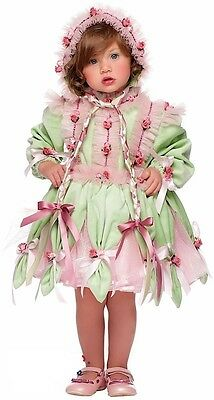 Italian Made Deluxe Baby Girls Flower Fairy Pixie Fancy Dress Costume Outfit 1-3