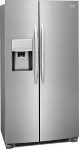 Frigidaire Gallery FGSS2335TF 33 Side by Side Refrigerator With Thru Door Ice Dispenser