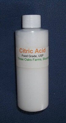 Citric Acid for Cheese Making, 4 Oz.
